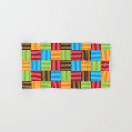 Festive Color Weave Hand & Bath Towel