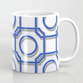 Turandot Chinoiserie Lattice Stoke-on-Trent Coffee Mug
