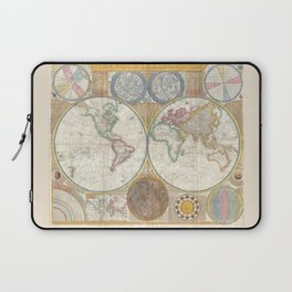 Map 1794 Laurie & Whittle Laptop Sleeve