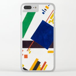 Suprematist Composition by Kazimir Malevich, 1916 Clear iPhone Case