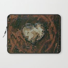 White hearts are the best Laptop Sleeve