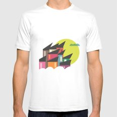 Houses of Colors MEDIUM Mens Fitted Tee White