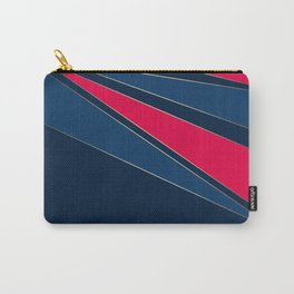 Abstract geometric pattern Carry-All Pouch