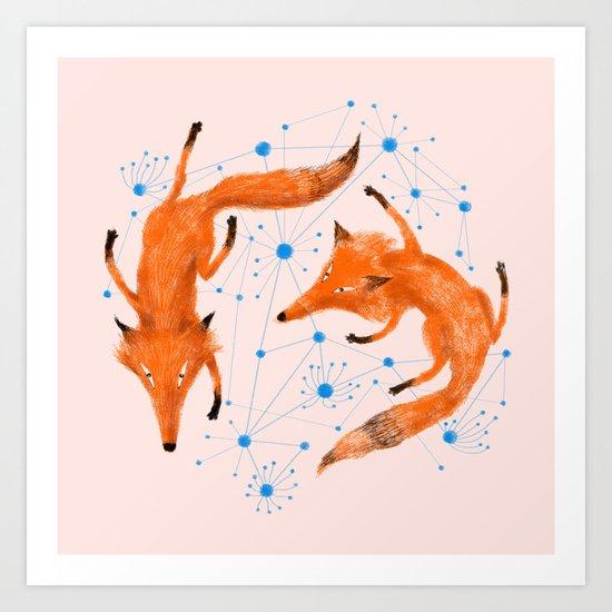Twin Art Print