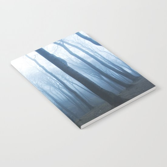 Foggy Woods #society6 #buyart Notebook