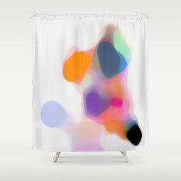 CHAMPAGNE COAST 02. Shower Curtain