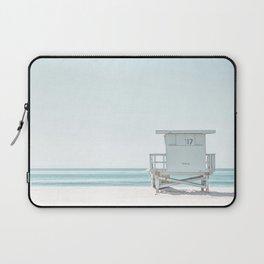 Lifeguard Beach Hut Laptop Sleeve