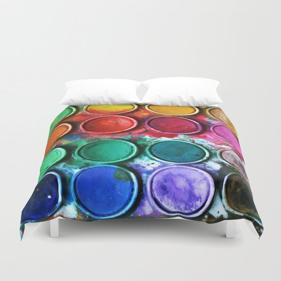 Paint box Duvet Cover