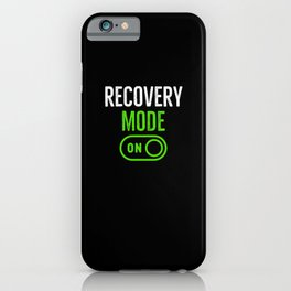 Recovery Mode On iPhone Case