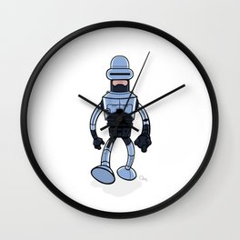 BenderCop Wall Clock