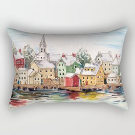 Portsmouth, New Hampshire Rectangular Pillow