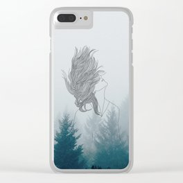 Built From Fire Clear iPhone Case