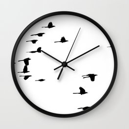 Blackbirds Wall Clock
