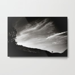 travelling clouds Metal Print