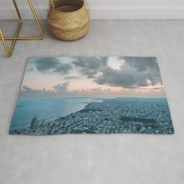 A Ladder to the Sky - Limassol Rug