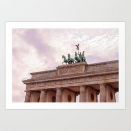 Brandenburg Gate in Berlin Art Print