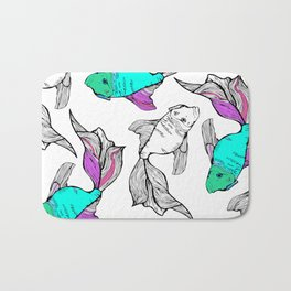 Sea-life Collection - Fish Tank 2 Bath Mat