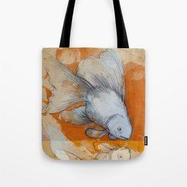 Narcissus Goldfsih Tote Bag