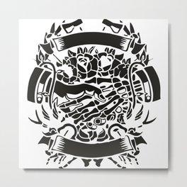 Shake Hand Metal Print