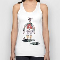 knight Tank Tops featuring knight by swinx