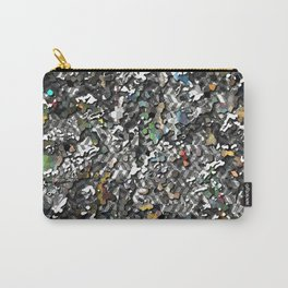 Realistic High Tech Urban 3D Camo Pattern Carry-All Pouch