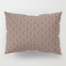Brown star pattern Pillow Sham