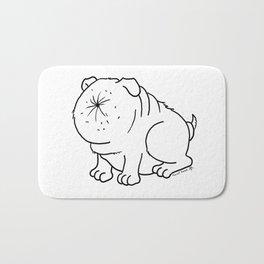 Der Arschlochhund - The Asshole Dog Bath Mat