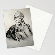 French Sketch III Stationery Cards