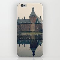 castle iPhone & iPod Skins featuring Castle by DuniStudioDesign