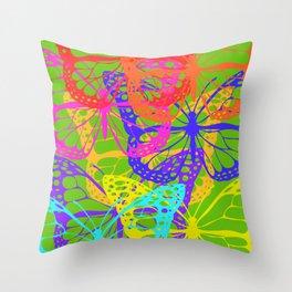 Yapah Butterfly Throw Pillow