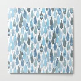 Let It Rain V Metal Print