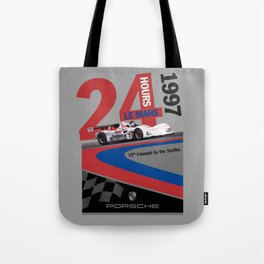 Porsche: The Missing Poster Tote Bag