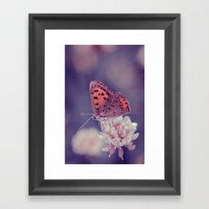 Tiny Beauty Framed Art Print