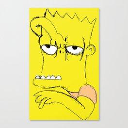 "Bart ""The Tracy Ullman Show"" Simpson Canvas Print"