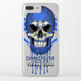 To The Core Collection: Connecticut Clear iPhone Case