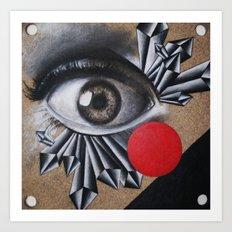 An Eye for an Eye Art Print