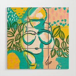 Willendorf Beach Wood Wall Art