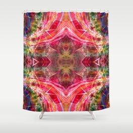 The Glitch Shower Curtain