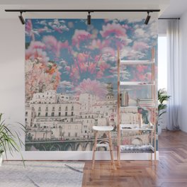 Floral Fireworks Wall Mural