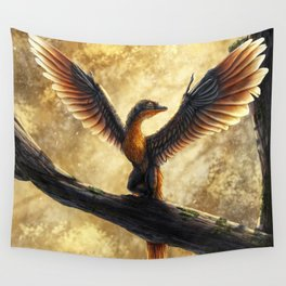 Archaeopteryx Lithographica Commission Wall Tapestry