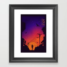At Dusk Framed Art Print