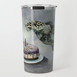 Turtle Birthday Travel Mug