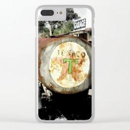 Texaco Clear iPhone Case