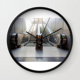 escalator Wall Clock