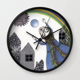 Rainbow Mine (2) Wall Clock
