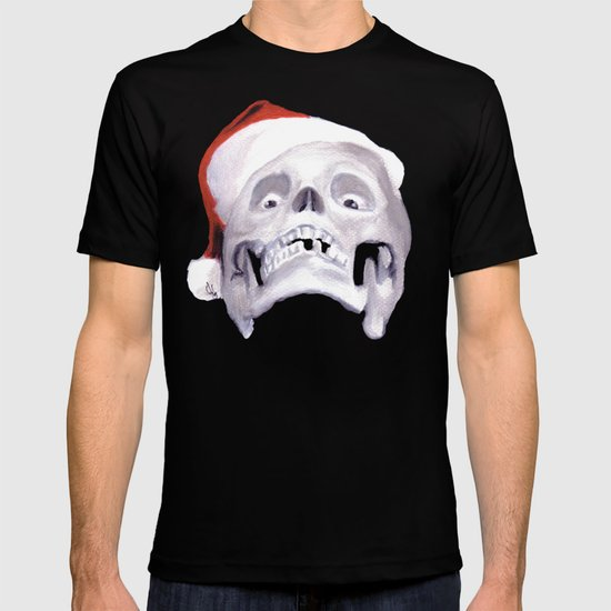 Black XMas. Bastard Son Of Santa T-shirt