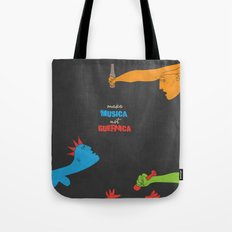 Make Musica Not Guernica Tote Bag