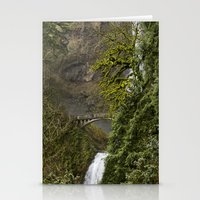 portlandia Stationery Cards featuring Water //  Fall by Juan Joel Arce