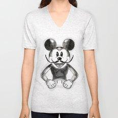 Hey Mickey Unisex V-Neck