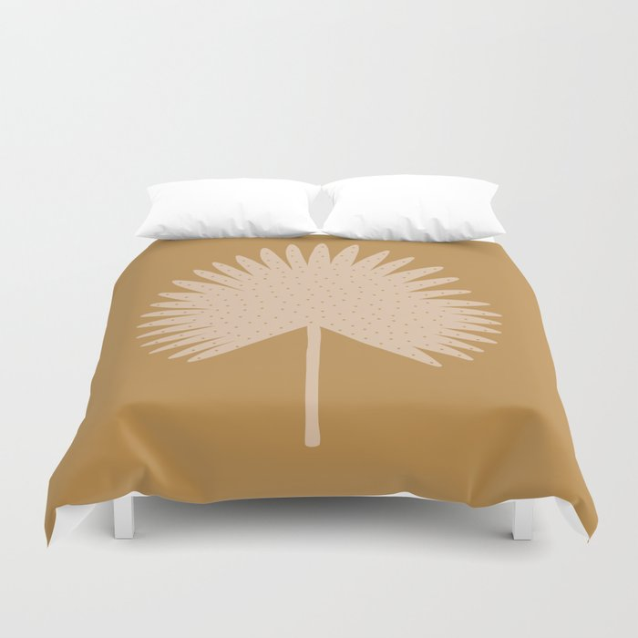 Palm Leaf Duvet Cover